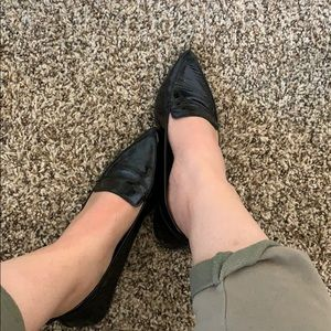 Also pointed to me flats
